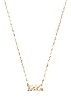 X REVOLVE 1990's Charm Necklace