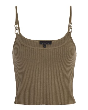The Range Vital Hardware Cropped Tank Top | INTERMIX®