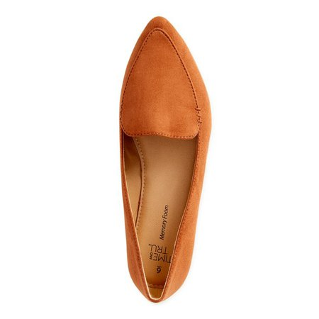 Time and Tru - Time and Tru Feather Flat (Women's) (Wide Width Available) - Walmart.com - Walmart.com