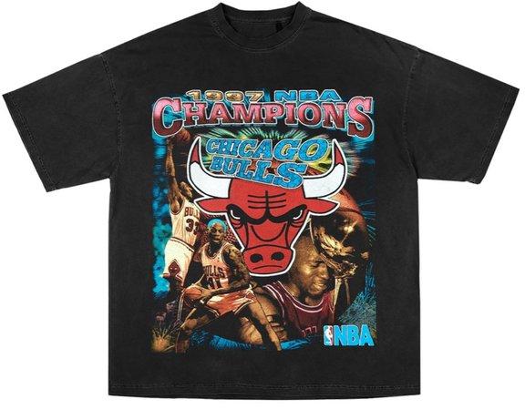 Bulls retro t shirt