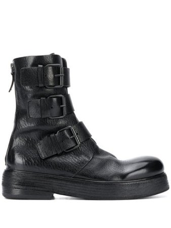 Marsèll Triple Buckle Boots - Farfetch