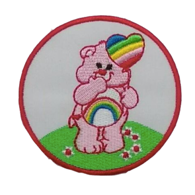 cheer bear patch