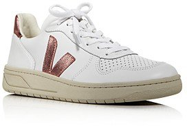 Women's V-10 Leather Low-Top Sneakers
