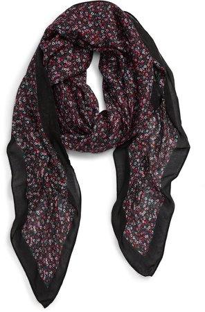 Ditsy Floral Square Scarf
