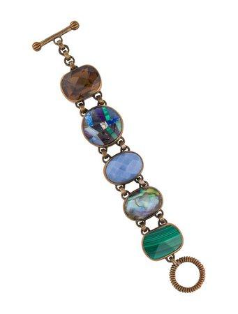 Stephen Dweck Multistone Link Bracelet - Bracelets - STD23123 | The RealReal
