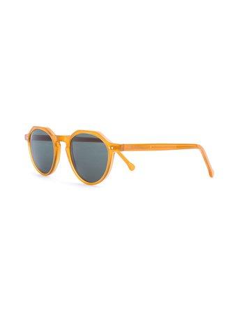 Lesca Round Frame Sunglasses - Farfetch