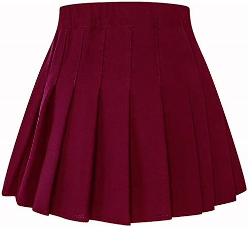 Amazon.com: SANGTREE Girls & Women's Pleated Skirt with Comfy Stretchy Band, 2 Years - Adult XL: Clothing