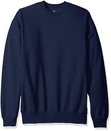 Hanes Men's Ecosmart Fleece Sweatshirt at Amazon Men's Clothing store