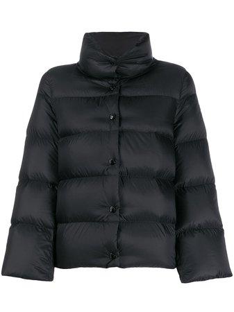 Moncler Button-Down Puffer Jacket | Farfetch.com