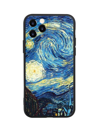 Black Friday 2020   Van Gogh Starry Sky iPhone Case   SHEIN USA