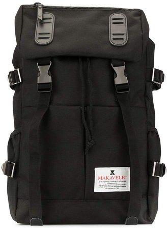 Makavelic Double Belt logo backpack