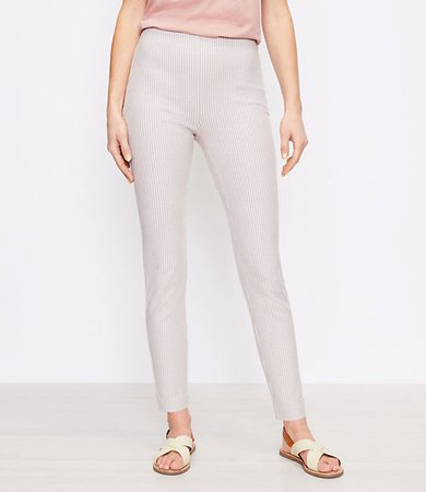 The High Waist Side Zip Skinny Pant in Check