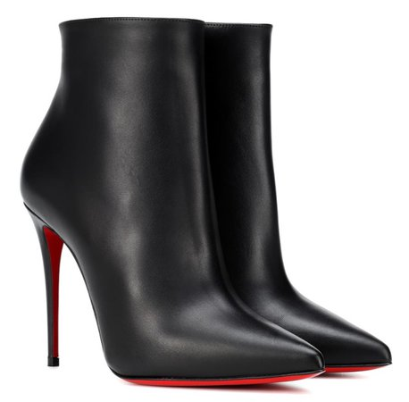 CHRISTIAN LOUBOUTIN Black So Kate 100 Boots