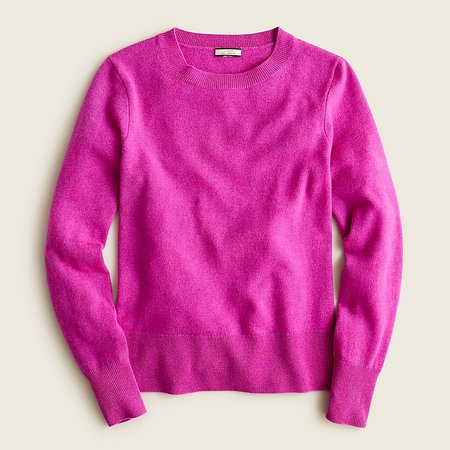 J.Crew: Cashmere Classic-fit Crewneck Sweater For Women