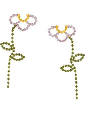 AREA Boucles d'oreilles Pendantes - Farfetch