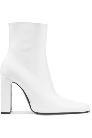 Balenciaga   Leather ankle boots   NET-A-PORTER.COM