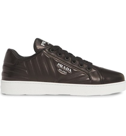 Prada Quilted Low Top Sneaker (Women) | Nordstrom