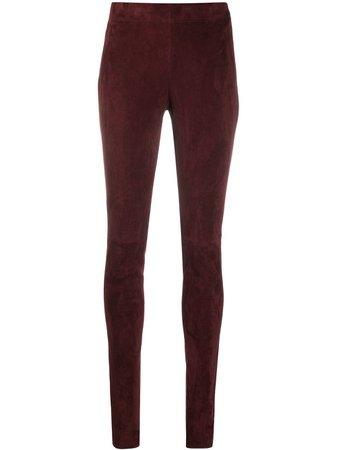 Red Joseph stretch leggings JF0048991 - Farfetch