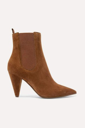 85 Suede Chelsea Boots - Tan