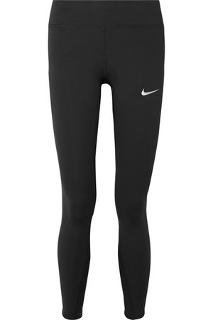 Nike | Power Epic Lux cropped Dri-FIT stretch leggings | NET-A-PORTER.COM