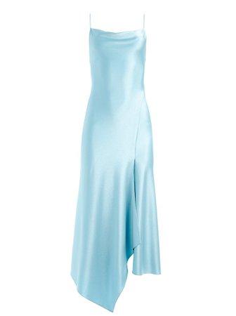 Harmony Drapey Slip Midi Dress | Alice And Olivia