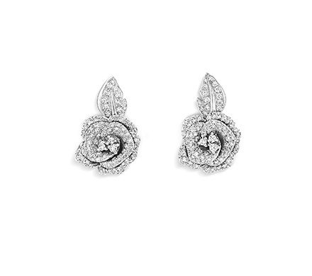 Rose Dior Earrings