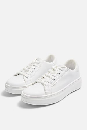CUBA Lace Up Trainers | Topshop