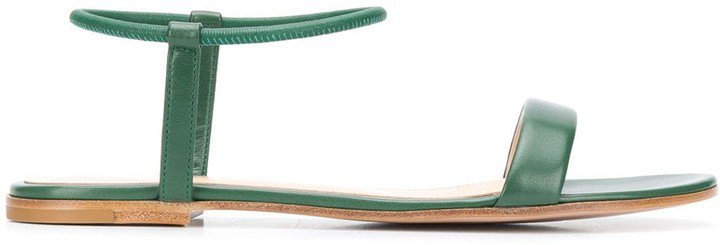 Jaime flat leather sandals