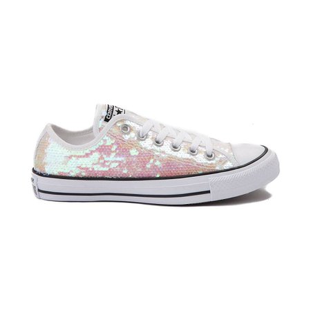 ~Light Pink Sequin Converses~ (By Chuck Taylor)