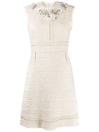 Giambattista Valli Beaded Tweed Dress | Farfetch.com