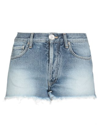 Alanui Cotton Jeans Shorts
