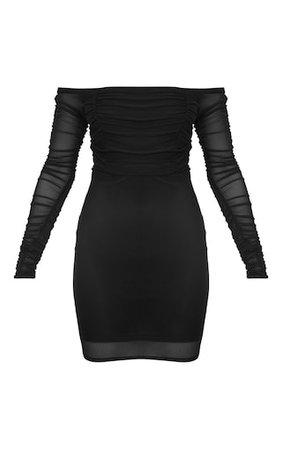 Black Bodycon Dress | PrettyLittleThing