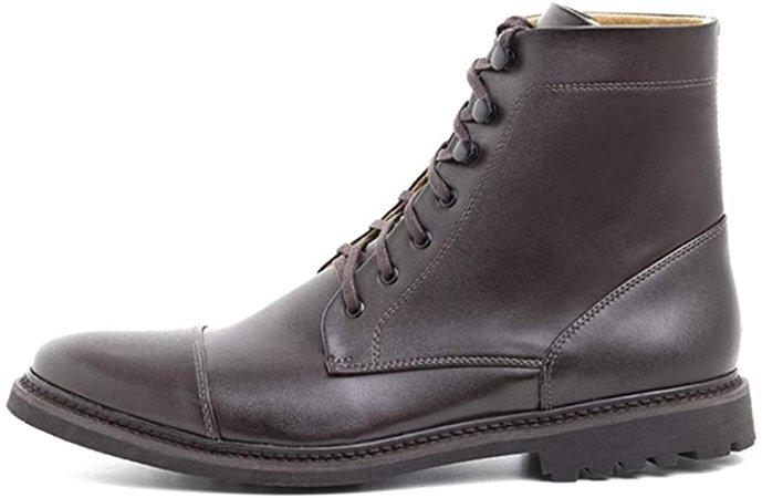 Ahimsa Vegan Work Boot/Vegan Leather (8)   Boots