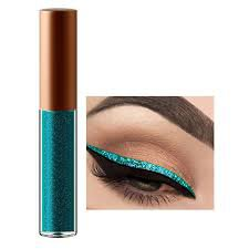 teal eyeliner - Google Search