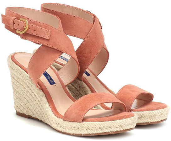 Lexia suede wedge sandals