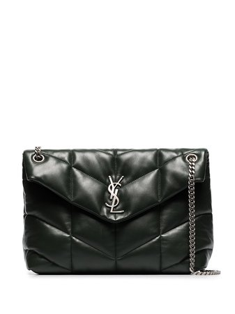 Saint Laurent Medium Loulou Puffer Leather Shoulder Bag - Farfetch