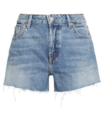 Helena Distressed Denim Shorts