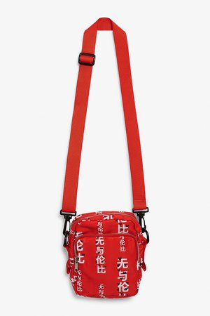 Utility style bag - Sports car red - Bags, wallets & belts - Monki IT