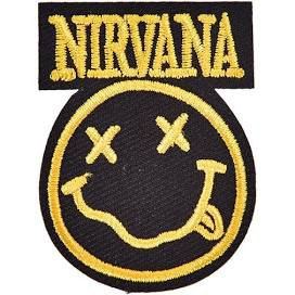 Nirvana sew on patch - Google Search