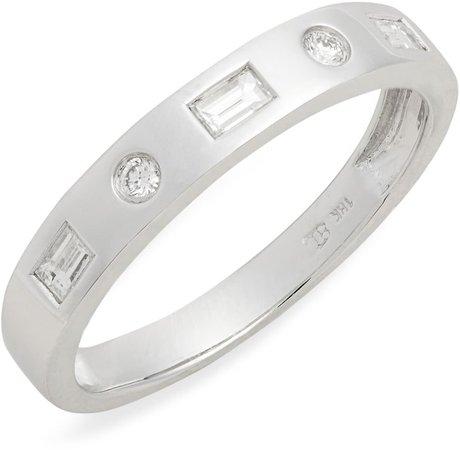 Ofira Mixed Diamond Band Ring