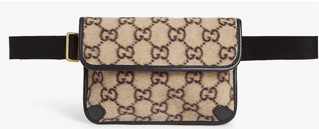 Gucci wool belt bag