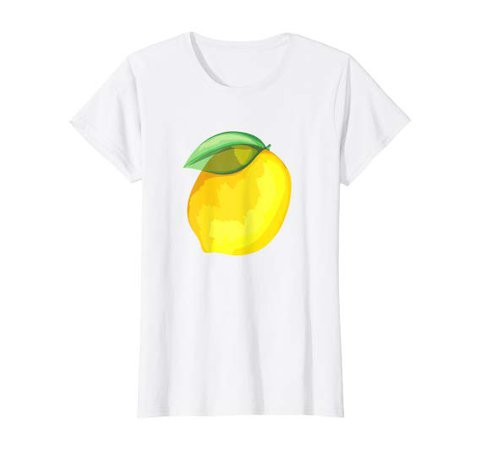 Amazon.com: Womens Cute Stylish Spring Summer Yellow Lemon Graphic Vacation T-Shirt: Clothing