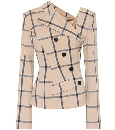 Louise checked blazer