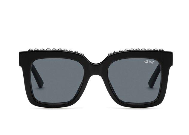 ICY Square Studded Sunglasses | Quay Australia