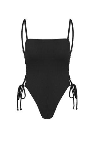 HELLO MOLLY Cubana Night Swimsuit Black - Most Loved | Hello Molly USA