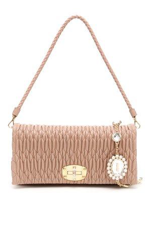 Miu Miu Nappa Miu Crystal Bag