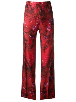 F.R.S For Restless Sleepers Printed Cropped Trousers - Farfetch