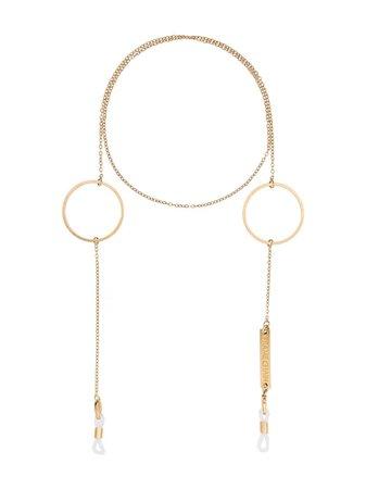 Frame Chain Gold Loop De Loop Glasses Chain - Farfetch