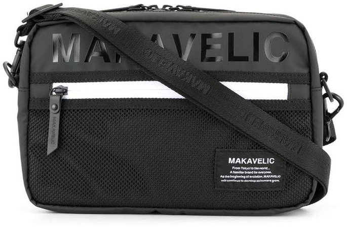 Makavelic utility shoulder bag