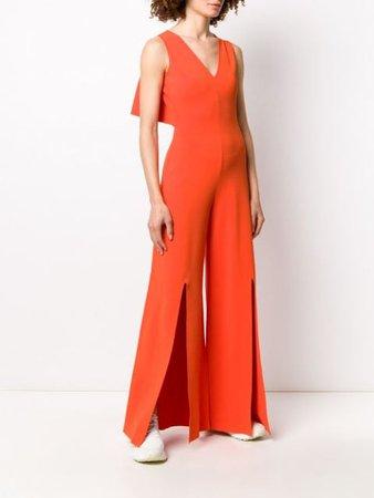 Stella McCartney Cut Out Back Sleeveless Jumpsuit - Farfetch